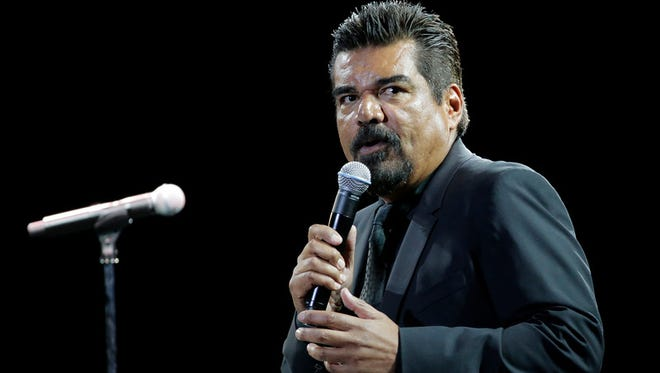 "Comedian George Lopez is shown performing in July 2015 at the Don Haskins Center, where he served as the host of the ""The Comedy Get Down,"" featuring Cedric the Entertainer, Eddie Griffin, D.L. Hughley, Charlie Murphy and Lopez."