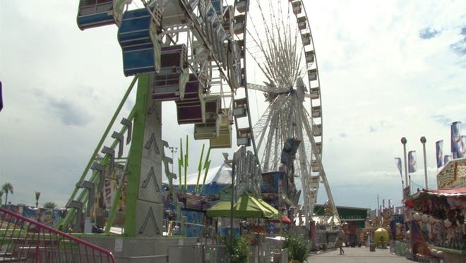 Inspectors used Thursday to make final inspections on the Arizona State Fair attractions. The fair is open until Nov. 8.
