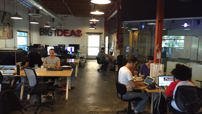 Co+Hoots was ranked second in Symmetry 50's 2015 list of the top co-working spaces in the U.S.