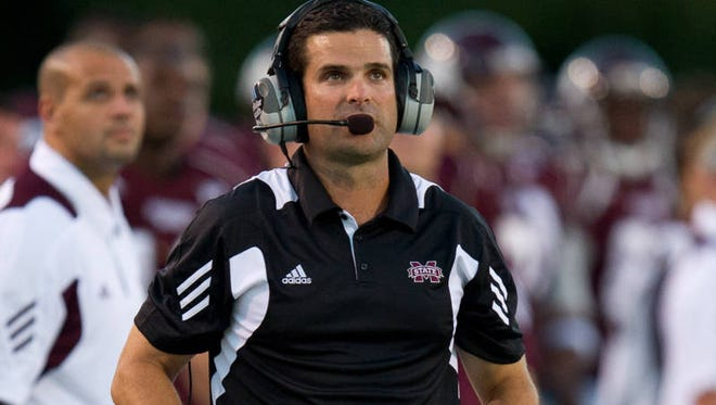 Mississippi State defensive coordinator Manny Diaz spent six seasons coaching in NC State's program.