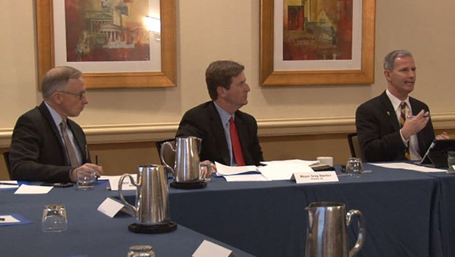 Mayors from several Western cities, including Phoenix Mayor Greg Stanton, met in Washington, D.C., to discuss water issues.