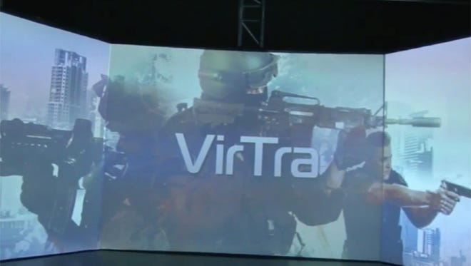 Police officers have begun training through a virtual reality program developed by VirTra.