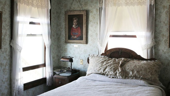 Glen Odegard renovated every room in the house and hung pictures of the family that lived in the house nearly six decades ago.