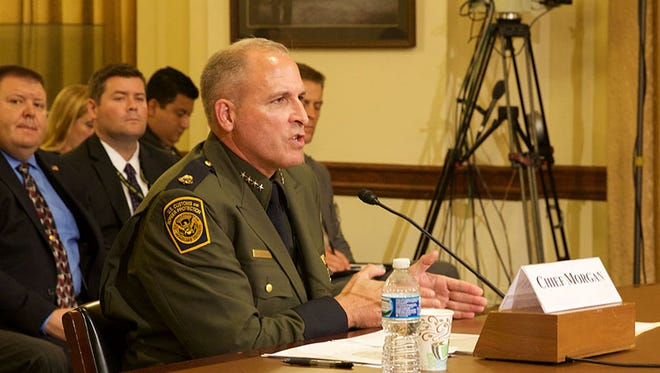 "Border Patrol Chief Mark Morgan, in September 2016, defended the agency's ""Defense in Depth"" policy, saying it allows an effective use of scarce resources along the border. Morgan resigned on Jan. 26, 2017."
