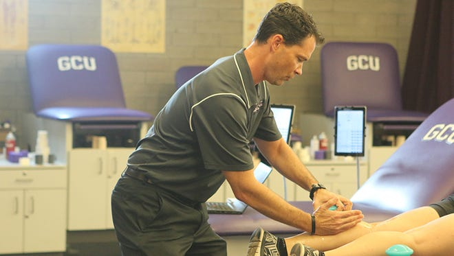 Geordie Hackett focuses both on injury prevention and recovery with his athletes.