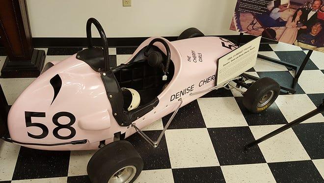 A 1950s quarter midget located in the Arizona Open Wheel Racing Museum.