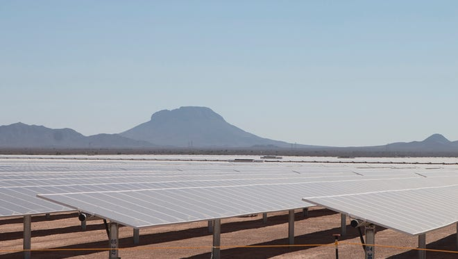 Sempra U.S. Gas & Power has contracted with the Navy and  Department of Energy to provide power to military bases in California from a solar facility in Tonopah.