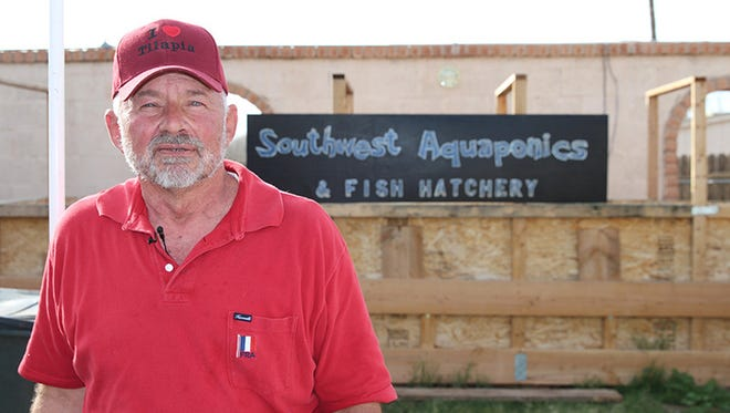 John Healy started Southwest Aquaponics and Fish Hatchery in Glendale with just one tank in his backyard. He now helps people across the state start their own home gardens with aquaponics.