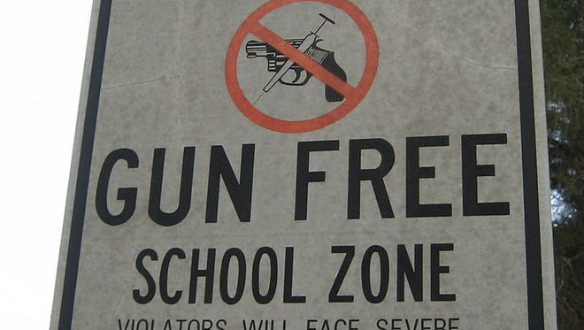 Although there are federal laws concerning gun-free zones in schools, many states and local boards have their own laws and policies. Arizona school officials leave the decision to local boards.