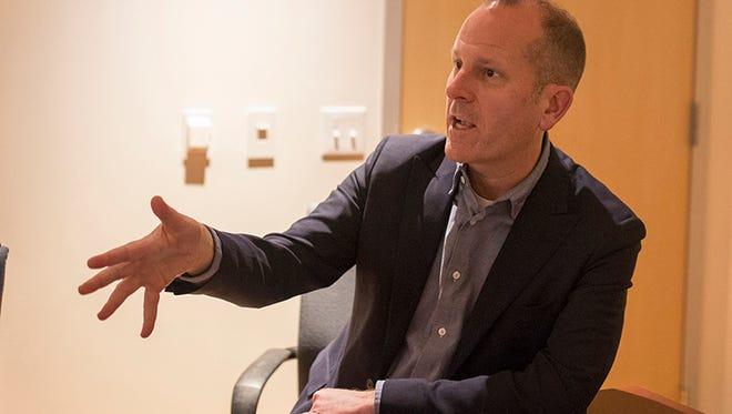 Corey duBrowa, senior vice president of global communications and international public affairs,  visited Arizona State University on Monday.