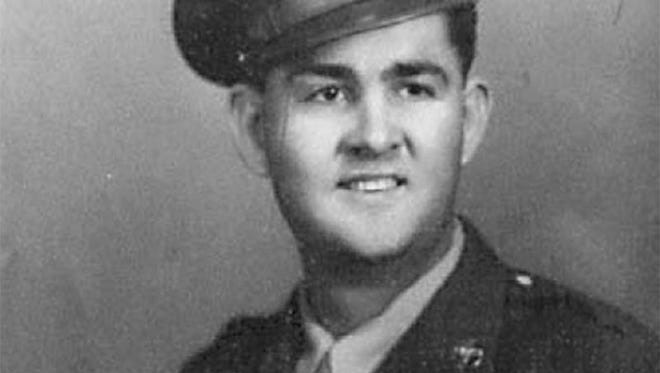 Shown is Henry H. King from Bryson as a 21-year-old aircraft mechanic for the Army Air Corps during World War II. He was stationed at Clark Air Base in the Philippines in 1941 when the base was attacked by the Japanese. He spent 42 months as a POW, surviving the Bataan Death March and working in the mines in Japan.