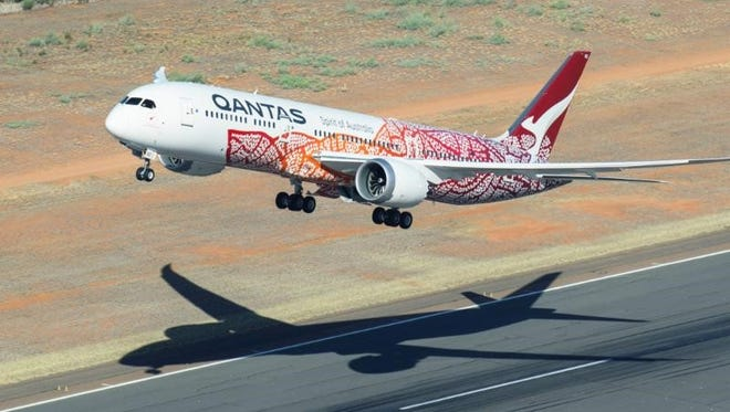 The Qantas flight from Perth to London covered 9,000 miles with an approximate duration of 17 hours and 20 minutes. The flight, third-longest commercial flight in history, was powered by manufacturing components from several North Carolina cities, including Asheville.