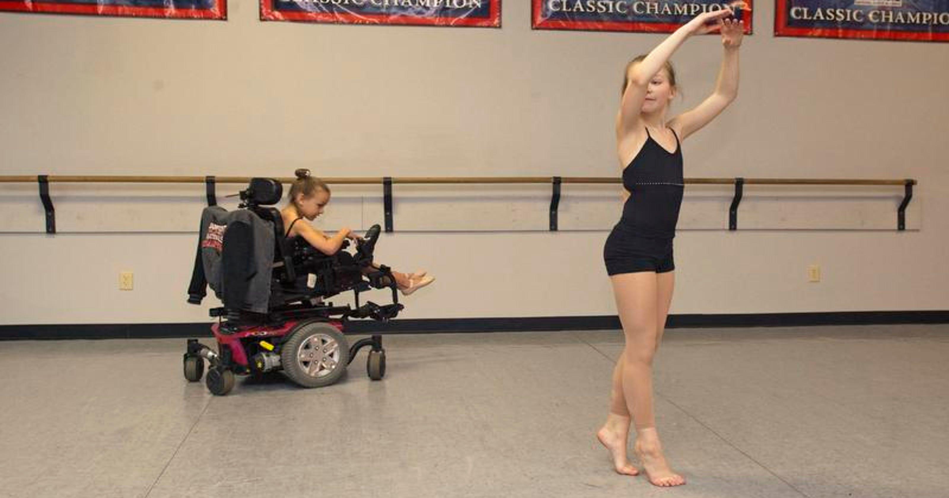 Shepherdsville sisters' dance breaks from routine