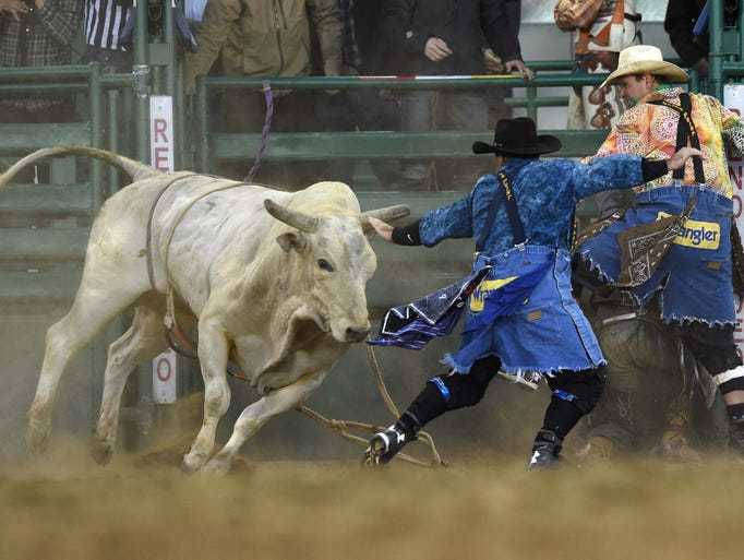 Action photos from the Xtreme Bulls event at the Reno