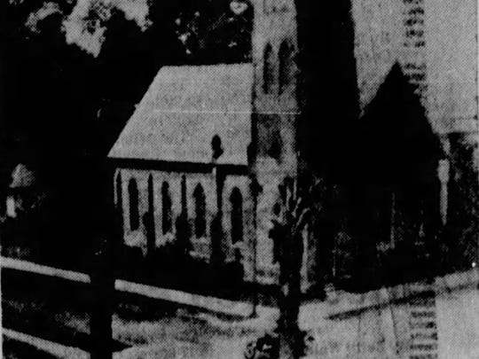 Grace Episcopal Church once was at the corner of St.