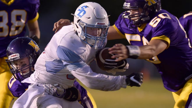 Southern Door running back Derik LeCaptain is the MONLP-Large Conference Offensive Player of the year.