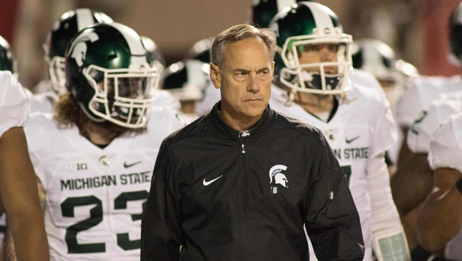 Mark Dantonio and MSU hadn't lost back-to-back games since 2012 until last week, and the Spartans are 0-2 in Big Ten play for the first time since Dantonio's debut season in 2007.