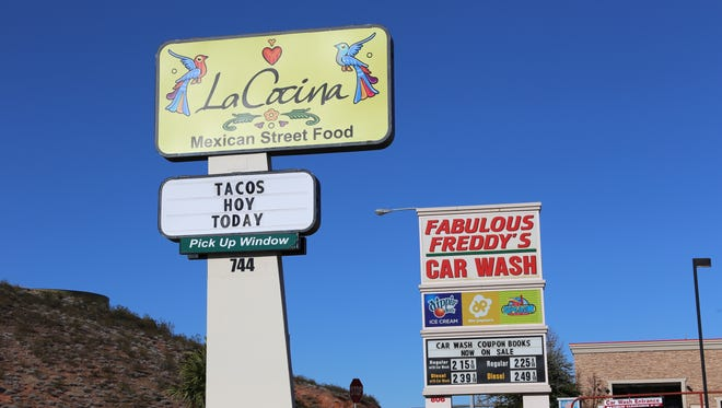 La Cocina, located on the north side of Bluff Street in St. George, dishes out authentic Mexican street food.