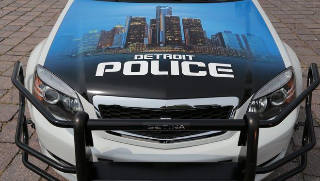 Detroit police car.