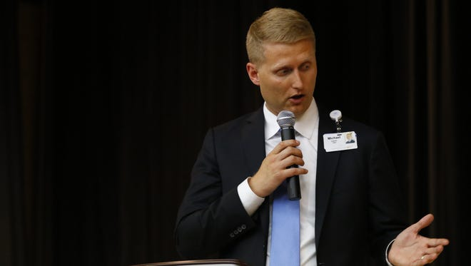 Michael Loy, CEO of North Central Health Care, was placed on paid administrative leave May 27 by the North Central Community Services Program Board.