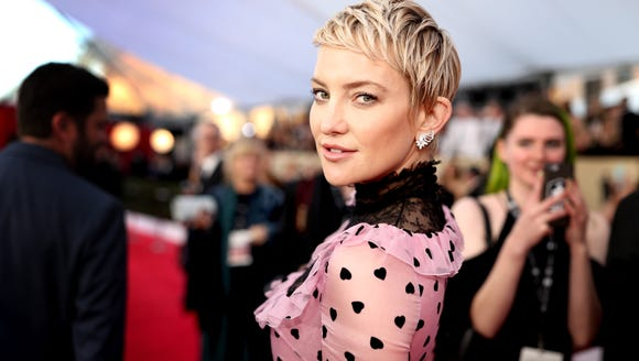 Kate Hudson the SAG Awards on Jan. 21, 2018 in Los