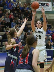 Susquehanna Valley graduate Erin Nolan has helped Bentley University to a 9-0 start.