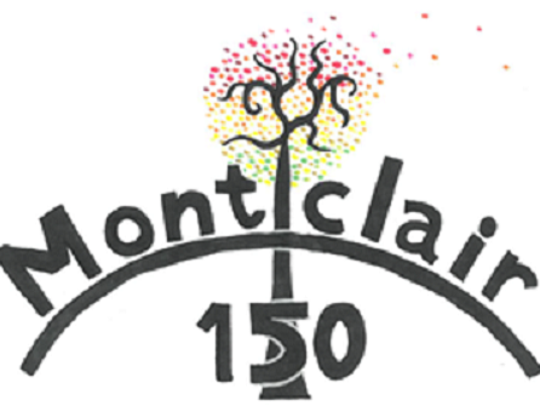 The winning entry in the contest for Montclair's 150th