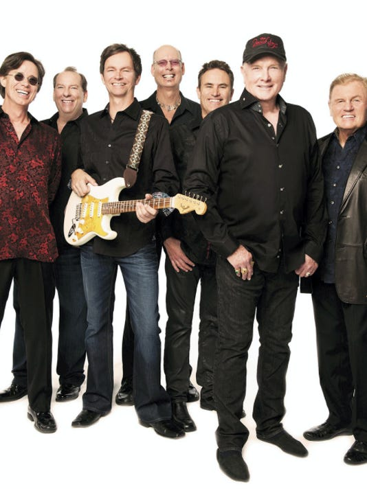 """The Beach Boys come to Lancaster Tuesday, Aug. 18. The band will perform their classic hits like """"Surfin' U.S.A"""" and """"Good Vibrations"""" at American Music Theatre."""