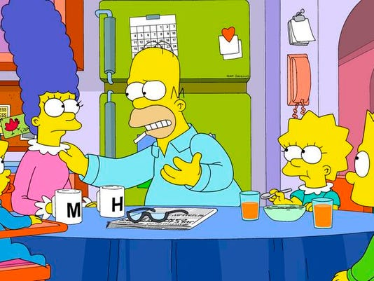 TV Critics Watch-The Simpsons