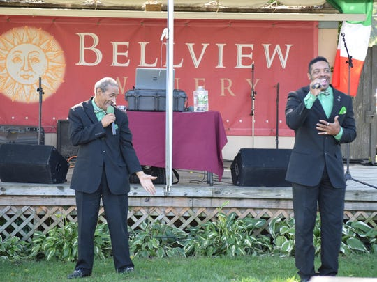 The R&B Show performed live music during the Italian Festival at Bellview Winery on Oct. 15.