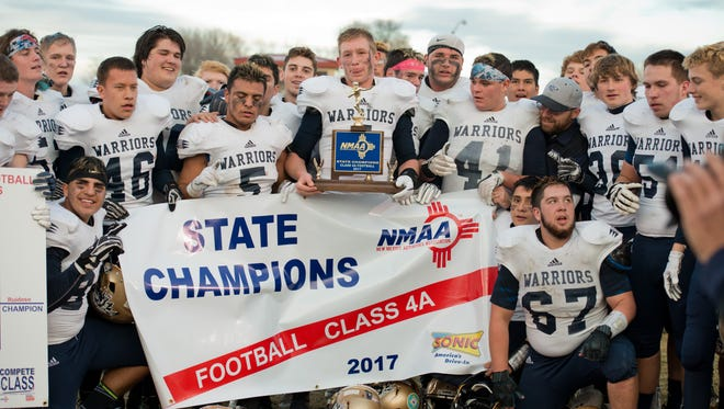 Ruidoso High beat Robertson 57-54 for the state 4A championship Saturday.