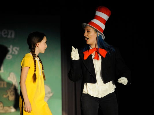 SEUSSICAL THE MUSICAL, zane trace drama, drama, musical