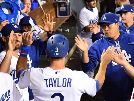 Chris Taylor and Co. are dominant at Dodger Stadium,