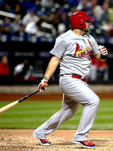 A quadriceps injury could sideline Matt Adams for the