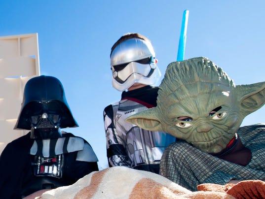 Star Wars screening Las Cruces 1