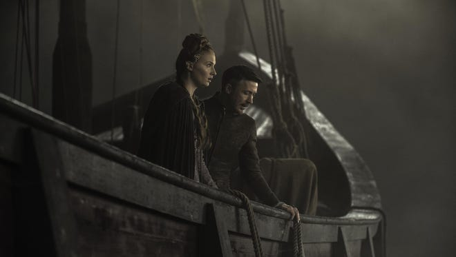 Fans will see more of Sansa (Sophie Turner) and 'Littlefinger' (Aidan Gillen) when Season 5 of HBO's 'Game of Thrones' premieres on April 12.