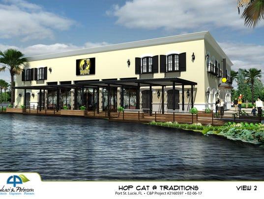 HopCat rendering
