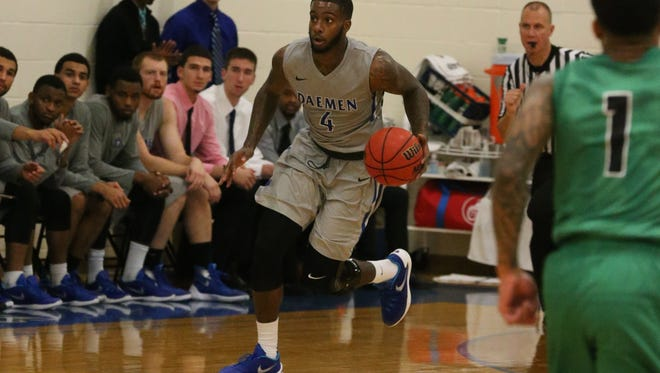 East High graduate Torrence Dyck was named the NCAA Division II Player of the Week by the U.S. Basketball Writers Association. He averaged 30.7 points per game in three wins for Daemen College.