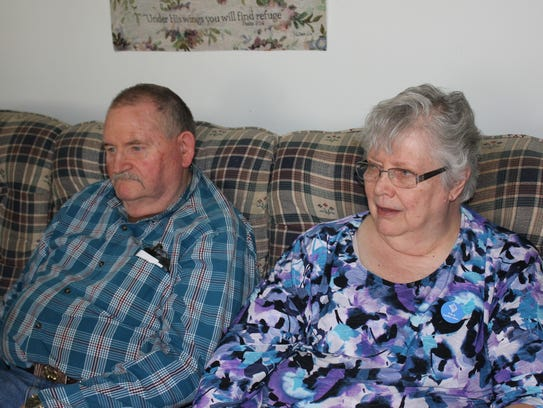 Bill and Joan Decker of Jenison, Mich. talk about how