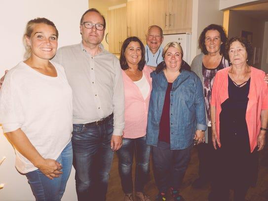 Rhonda Adkins' family.
