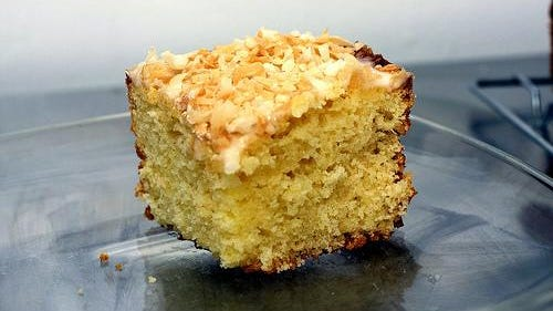 Key Lime Coconut Cake is great if you follow Anria's recipe.