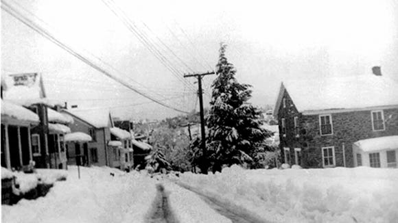 upper part of Hanover Street, Glen Rock, from mid 1950'ssubmitted