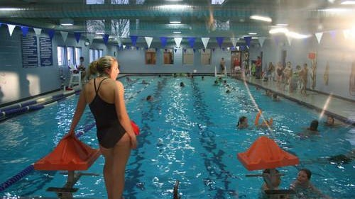 Locker rooms and the lap pool opened June 1 at the McPherson Family YMCA. The family pool will open via registration June 8.