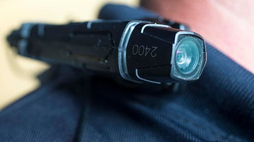 Body cameras attach to a police officer's uniform, glasses or hat and record the officer's interactions with citizens. ASU Professor Michael White estimates 25 percent or more of the nation's police departments are either using body cameras or getting ready to start implementing the technology.