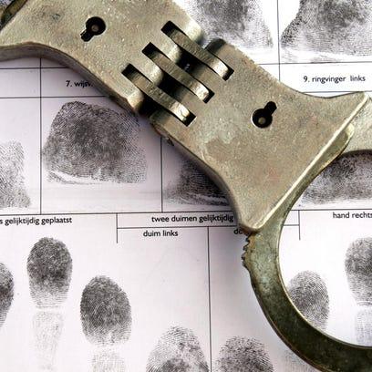 Monday's Delaware County arrest log