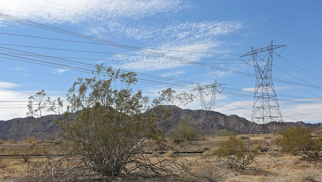 A power outage in Coachella Sunday night left nearly 3,000 homes in the dark.