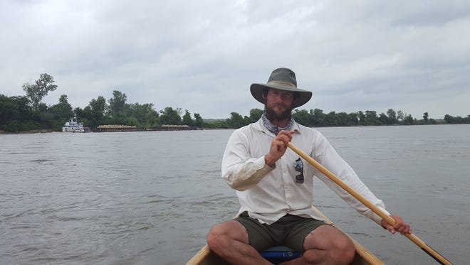 Kris Laurie, 31, LeRoy is a former Peace Corps volunteer who also worked for the National Park Service. He became among the few to complete the 3,800-mile inland water route from Montana to the Gulf of Mexico.