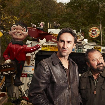 Made 2 Inspire Boutique owner Cathy Evans is a fan of American Pickers.
