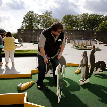 Mini-golf — yes, mini-golf! — returns with new Hoosier flair at Indianapolis Museum of Art