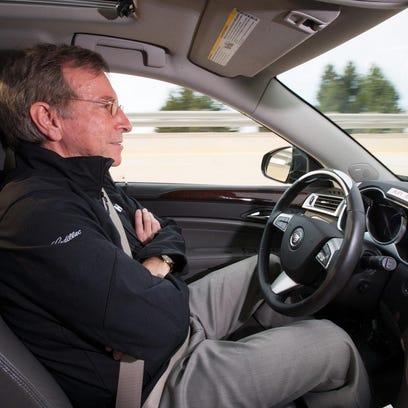 Semi-autonomous Cadillacs en route to dealerships